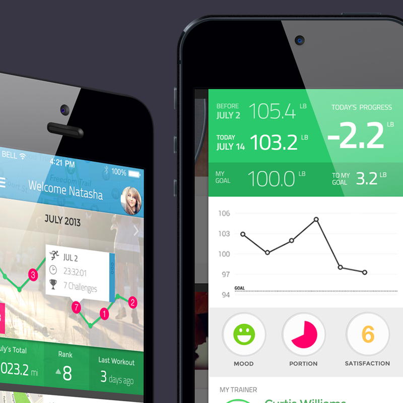 Fitness iPhone App